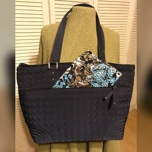 Vera Bradley Baby Bag with changing pad! LIKE NEW